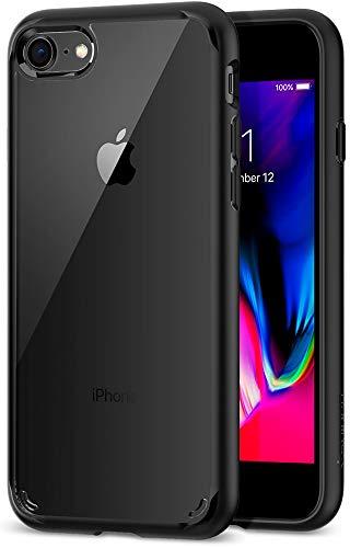 Spigen [Ultra Hybrid 2 Kompatibel mit iPhone 8/7 Hülle, Einteilige Transparent...