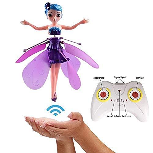 Fliegende Fee Spielzeug,Fliegende Fee Puppe Für Mädchen, Infrarot Induktion...