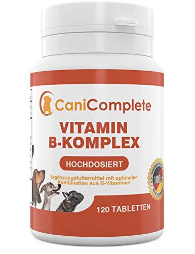 CaniComplete Vitamin B-Komplex für Hunde, Katzen: B1, B2, B3, B5, B6, B9, B12,...