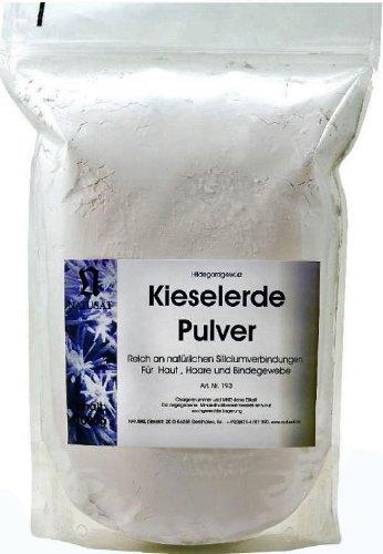 Natusat Kieselerde Pulver 1kg - Ergänzungsfutter für Pferde, Fellwechsel,...