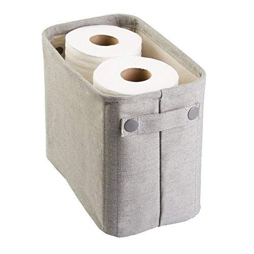 mDesign Toilettenpapierhalter (klein) aus Baumwolle – auch als...