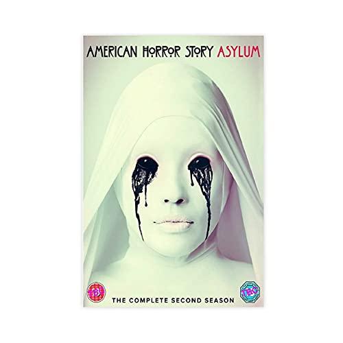 PLGG American Horror Story Poster 3 Leinwand-Poster, Wandkunst, Deko, Bild,...