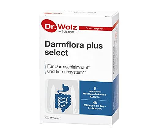 Darmflora plus select Dr. Wolz | hochdosierte Bakterienkulturen 48 Mrd/Tag |...