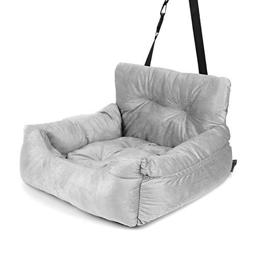 Lifemaison Autositz für Hunde, 2-in-1 Autositz Bett, Sicherheitssitz für...