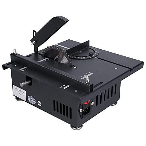 Tischkreissäge, Multifunktionale Mini-Tischkreissäge 1200W Schiebeschlitten...