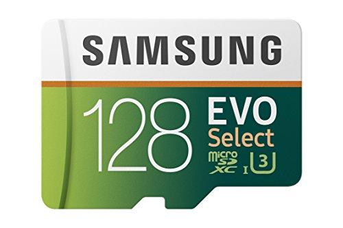 Samsung EVO Select 128 GB microSD 100MB/s, Geschwindigkeit, Full HD & 4K UHD...