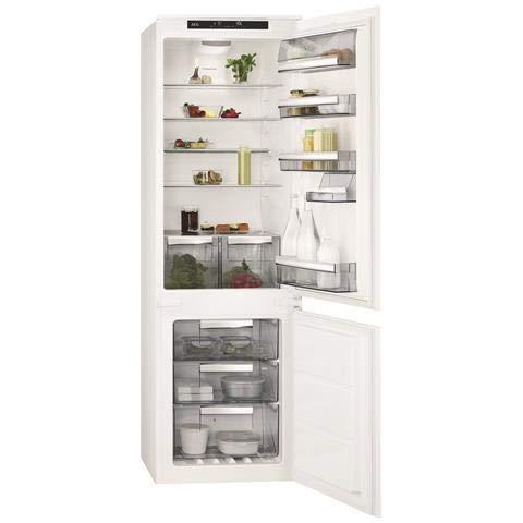 AEG scb81826ts eingebaut L A + + Weiß Kühlschrank...