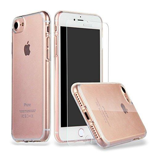 iPhone 8 iPhone 7 Hülle Case + Panzerglas, iPhone 7 Hülle Case Cover...