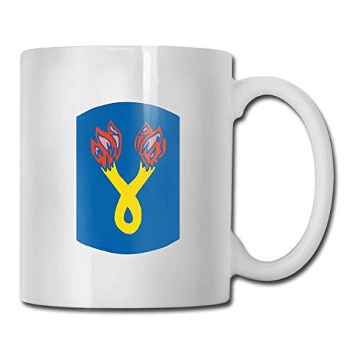 196th Infantry Brigade tragbare klassische Keramiktasse, Kaffeetasse,...