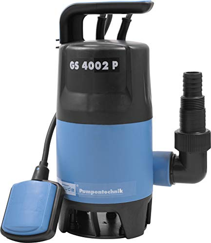 Güde 94630 Schmutzwassertauchpumpe GS4002P mit var.Schwimmerschalter (400W,...
