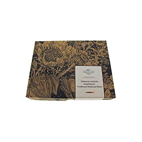 Bekannte nützliche Heilpflanzen - Samen-Geschenkset mit 5 traditionellen...
