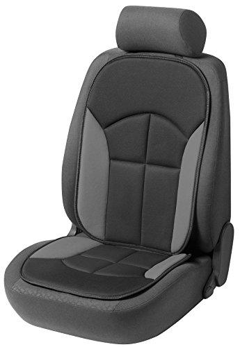 CarComfort Bequeme Universal Auto Sitzauflage Novara grau, hohes Rückenteil, 30...