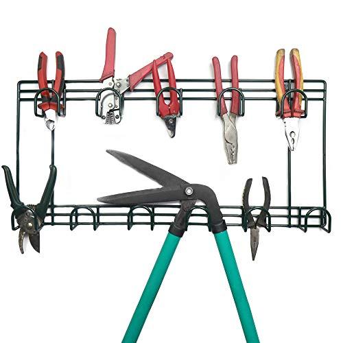 Gartengerät Organizer | Schuppen & Garage Wandlagerung | 2 Tier Hanging Rack |...