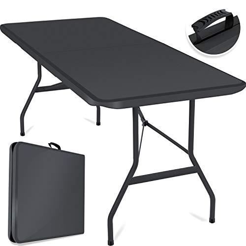 Kesser Buffettisch Tisch klappbar Kunststoff 183x76 cm Campingtisch Partytisch...