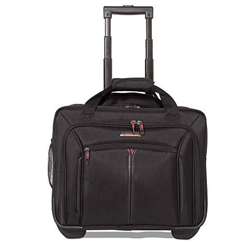 Aerolite 17' Rollkoffer Laptoptrolley Business-Tasche Laptop-Tasche bis 17,3' -...