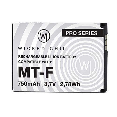 Wicked Chili Akku kompatibel mit AVM Fritz!Fon C5, C4, M2, MT-F, Motorola...