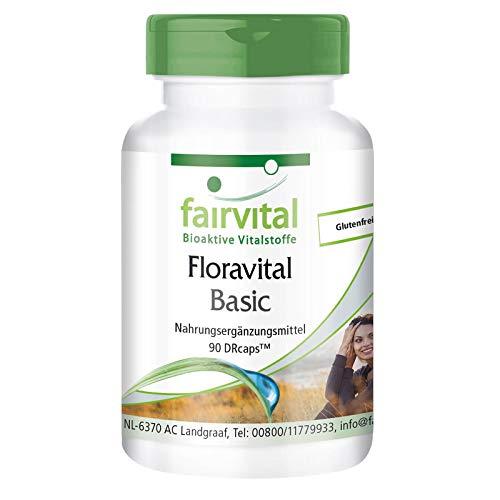 Floravital Basic - 6 Bakterienkulturen & Inulin - Lactobacillus &...