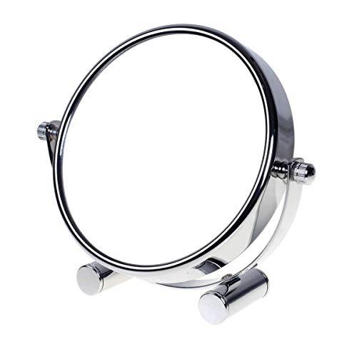 TUKA Designed Kosmetikspiegel 10 Fach, 6 inch Tischspiegel 360° drehbar,...