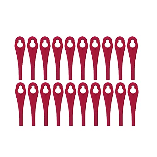 20 Kunststoffmesser/Ersatzmesser/Schneidplättchen/Messer passend für Akku...