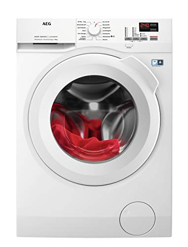 AEG L6FBA484 Waschmaschine Frontlader / Energieklasse E / Waschautomat mit...