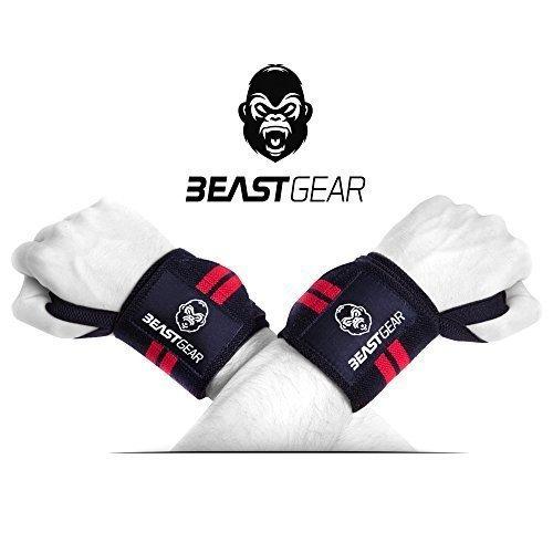 Beast Gear Handgelenkbandage – 2x Handgelenkstütze / Wrist Wraps für Sport,...