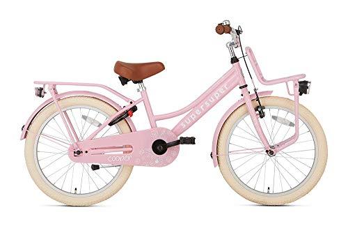POPAL SuperSuper Cooper Kinder Fahrrad für Kinder   Mädchen Fahrrad 20 Zoll ab...