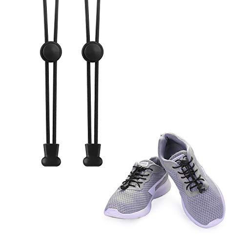 KATELUO Elastische Schnürsenkel mit Schnellverschluss Schnellschnürsystem ohne...