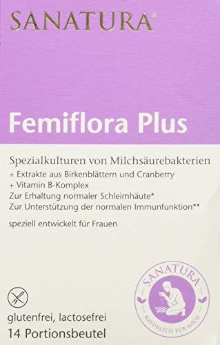 Sanatura Femiflora Plus – 105 g – Spezialkulturen von Milchsäurebakterien...