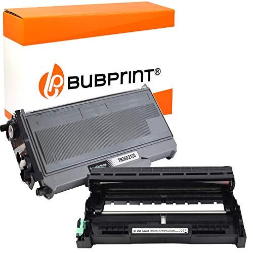 Bubprint XXL Toner und Trommel kompatibel für Brother TN-2120 DR-2100 für...