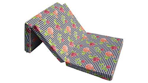 Natalia Spzoo Klappmatratze 195 x 65 x 8 cm Bezug aus Baumwolle (008)