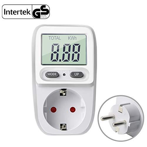 Gifort Energiekostenmessgerät Digitaler Energiekosten Messer...