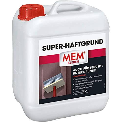 MEM Super-Haftgrund, Intensive Untergrundhaftung, Für saugende und...