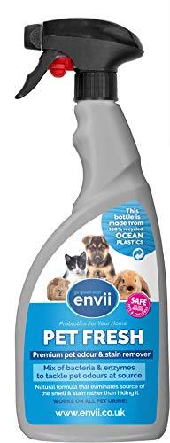 Envii Pet Fresh – Bio-Haustier-Flecken- und Geruchsentferner für Tierurin -...