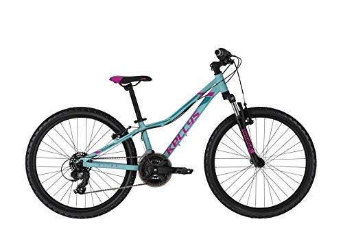 Kellys Kiter 50 24R Kinder & Jugend Mountain Bike 2020 (28cm, Turquoise)