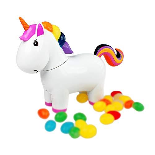 Monsterzeug Einhorn als Spender für Süßigkeiten, Einhornfigur kackt Jelly...