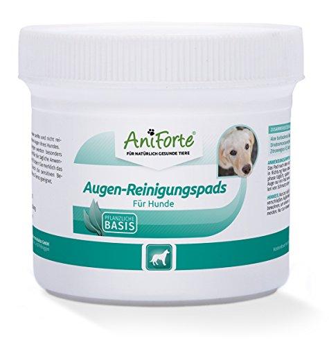 AniForte Augen-Reinigungspads 100 Stück für Hunde - Besonders schonende...