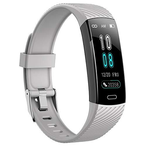 ASWEE Fitness-Tracker – Aktivitätstracker-Uhr mit Herzfrequenz-, Blutdruck-,...