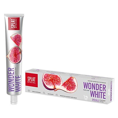 SPLAT SPECIAL Wonder White Zahnpasta für weiße Zähne - fluoridfreie und zu...