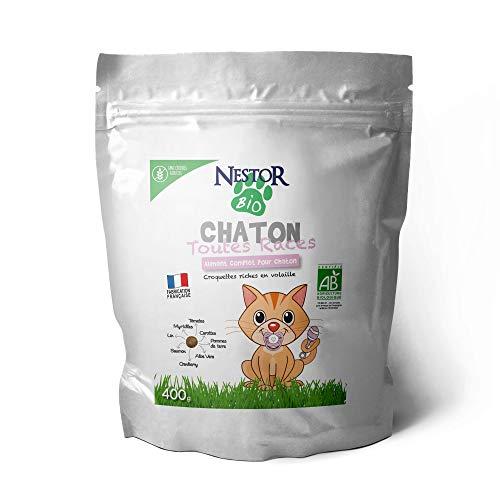 Kroketten Nestor Bio für Kätzchen + Nestor Bio