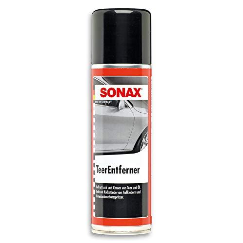 SONAX TeerEntferner (300 ml) löst schonend und gründlich Teer-, Ölflecken und...