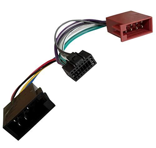 AERZETIX Z2ISO Konverter/Adapter/Kabel Radio Adapter Kabel Stecker ISO-Kabel...