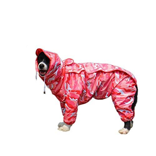 Regenjacken Hundejacke Wasserdichte Hunderegenmantel Fashion Dogs Regen Jacke...
