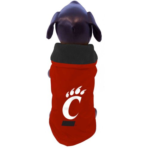NCAA Cincinnati Bearcats Allwetterfeste Schutzkleidung für Hunde, Tiny