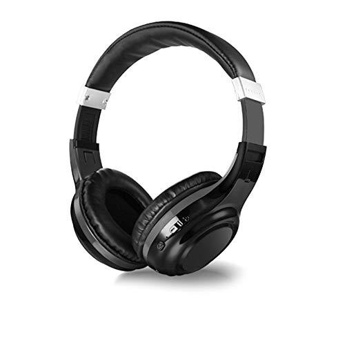 KOIUJ Bluetooth-Kopfhörer Falten Super Bass Stereo Anruf Headset Ear Kopfhörer...