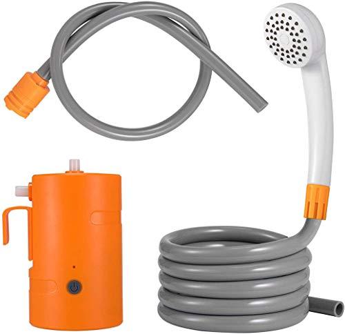 Tragbare Camping Dusche Außenduschset, USB Wiederaufladbar Angetriebene Dusche...