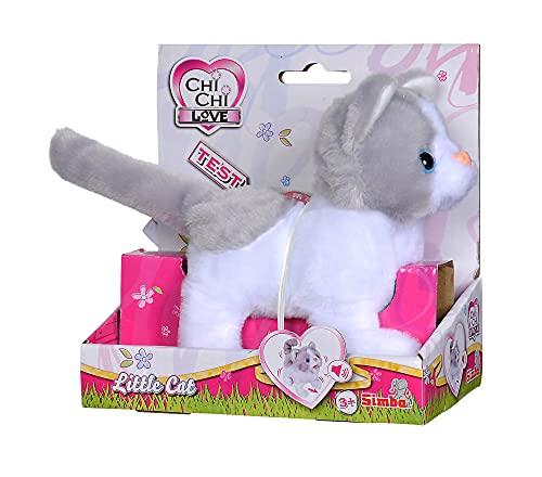 Simba 105893453 - ChiChi Love Little Cat, läuft und wackelt mit dem Schwanz,...