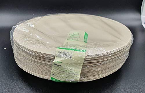 50 Teller 26 x 20 cm, OVALI h. 3 cm.15 gr. biologisch abbaubar und kompostierbar...