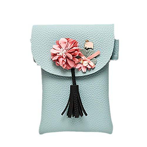QIUMINGSS Mädchen Damen Handtasche Damen Elegante Süße Kleine Crossbody...