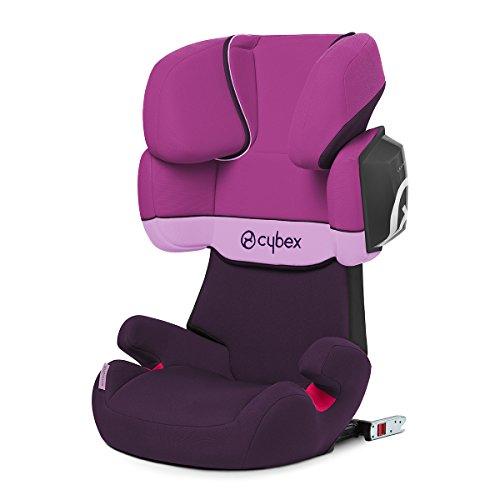 Cybex Silver Solution X2-fix, Autositz Gruppe 2/3 (15-36 kg), Mit Isofix, Purple...