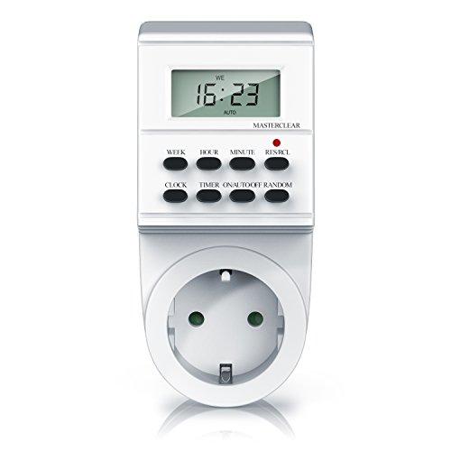 Digitale Zeitschaltuhr - Timer mit 1,5 Zoll LCD-Display - 3680W...